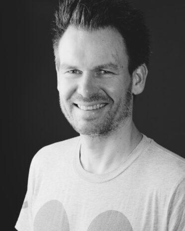 Portrett i svart-hvitt av Håvard Bungum