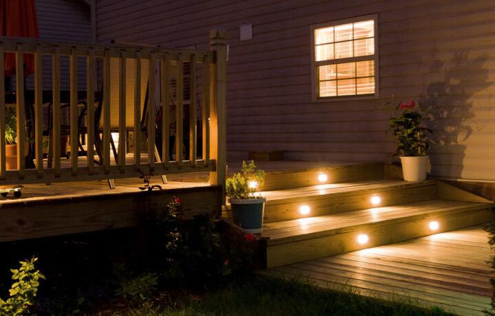 Belysning terrasse