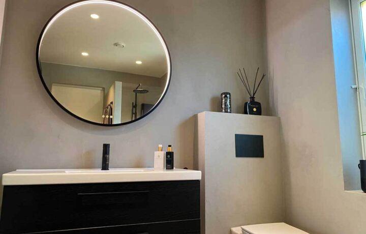 Mikrosement zenzorama toalett