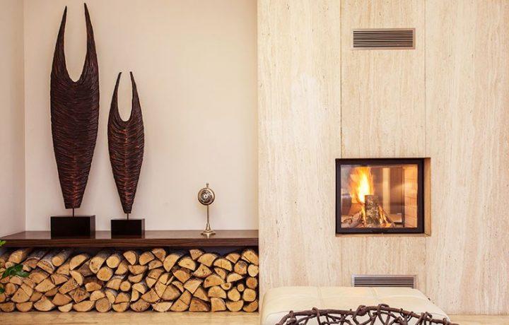 Peis Stue Moderne Interior