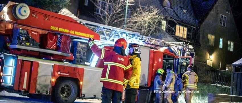 Vinteren er høysesong for brann: Dette må du passe på i din bolig!