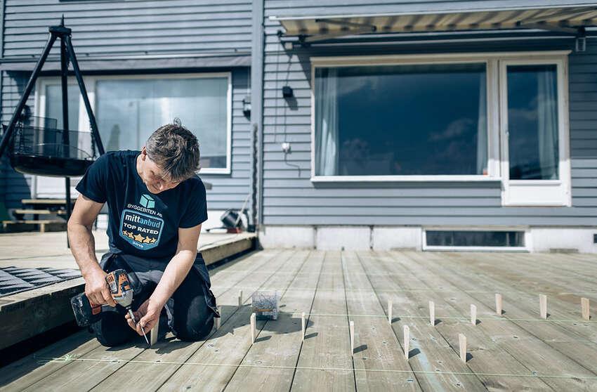 Nye regler for bygging av terrasse og tilbygg