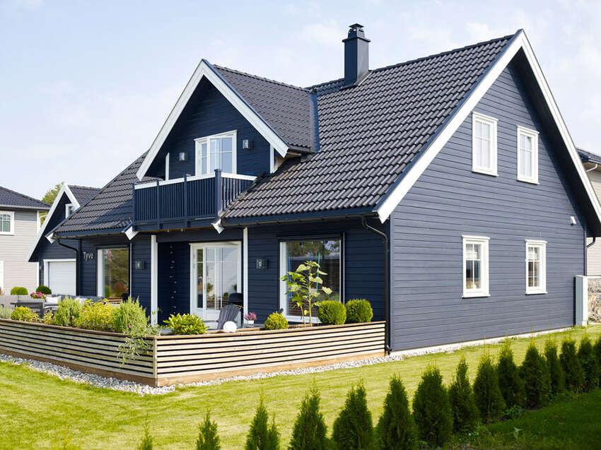 Slik finner du den perfekte fargen til huset ditt